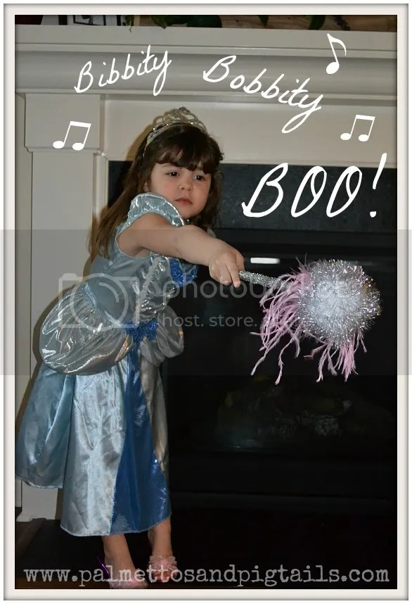 Top 5 Disney Activities to do with your Kids Under 4: Bibbity Bobbity Boo Wand - PalmettosandPigtails.com