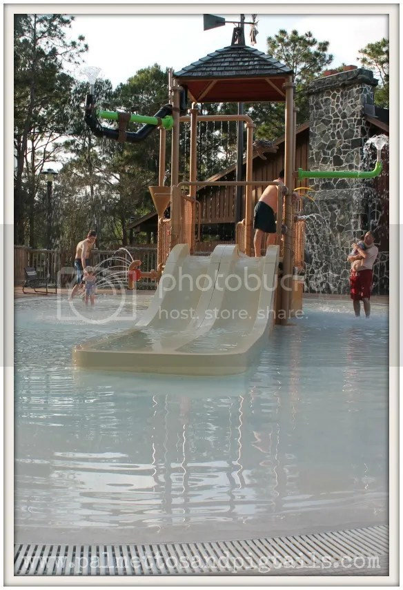 Pool at Fort Wilderness Campground at Disney World
