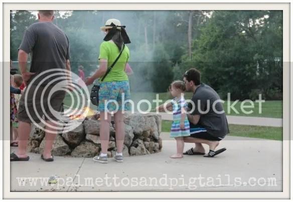 Fort Wilderness Campfire at Disney World