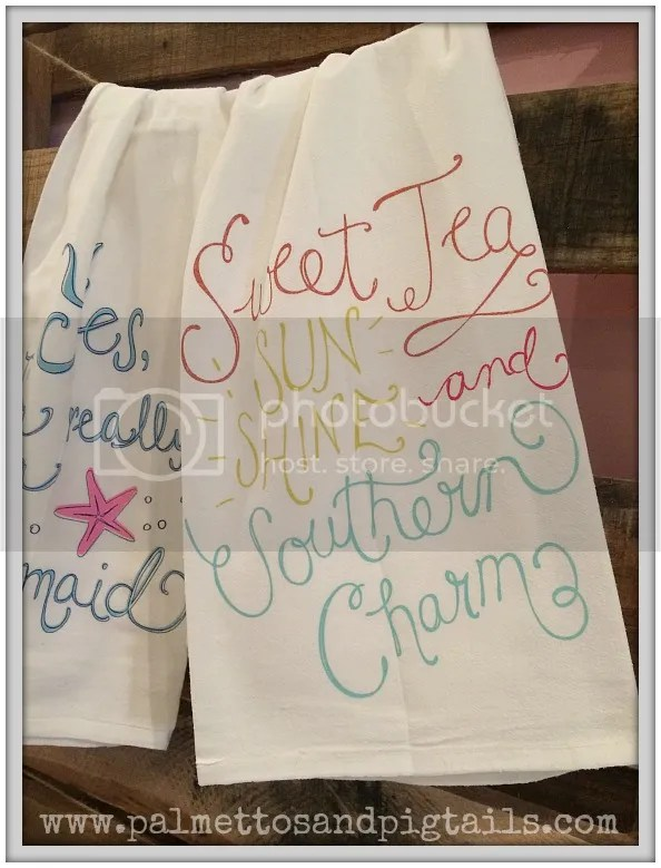 Tea Towel Collection from Declaration Boutique in Saint Augustine, Florida