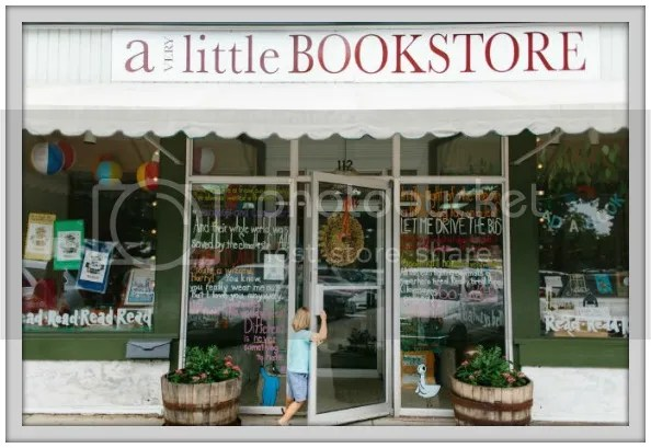 The Maypop Guest Posts about A Very Little Bookstore over at Palmettos and Pigtails