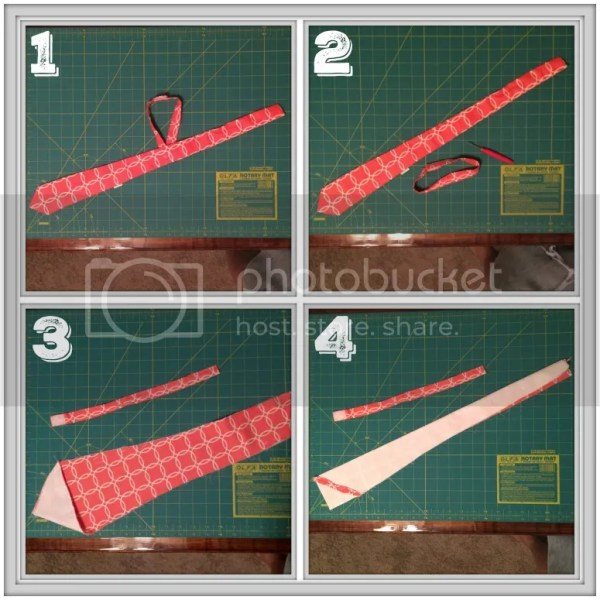 How to turn a necktie into a bow tie...a step by step tutorial with detailed pictures. #bowtie #DIY #tutorial #bowtiepattern