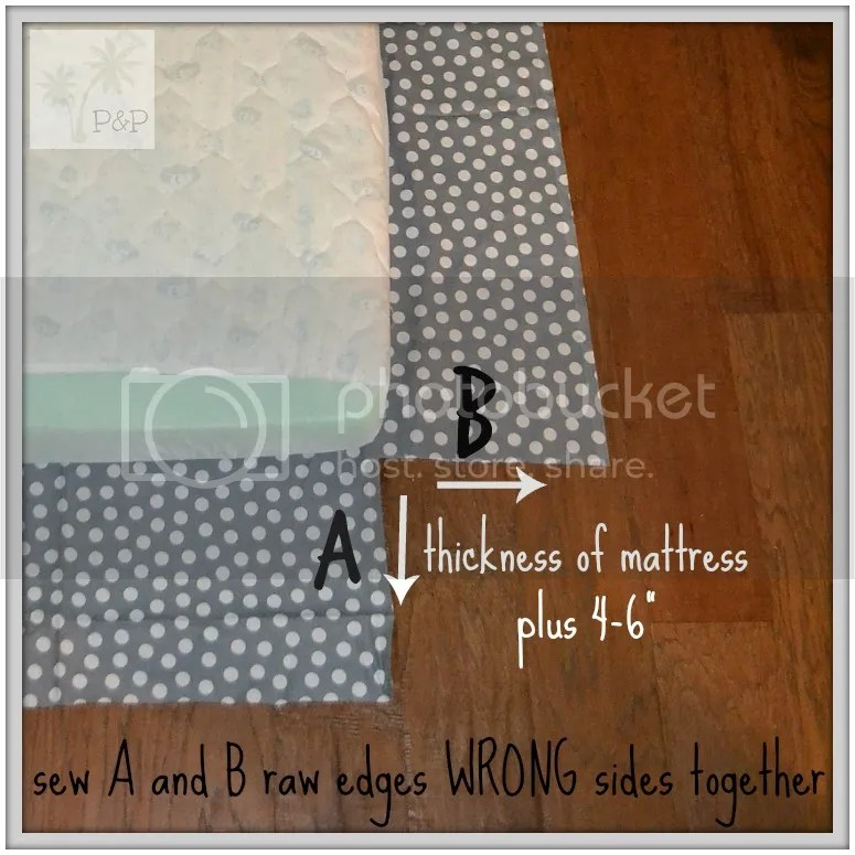 DIY Crib Sheet-a fitted sheet tutorial for any size mattress