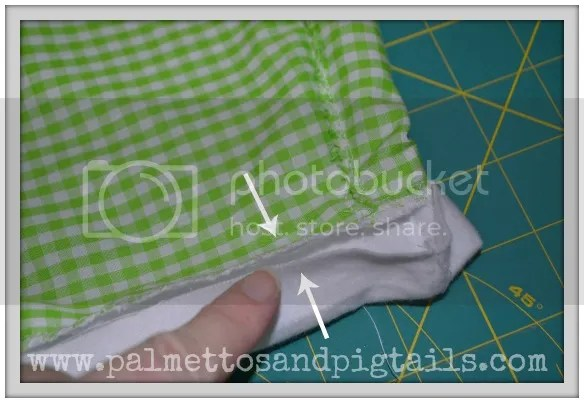 Ruffles and Cuffs: DIY Pants tutorial from Palmettos and Pigtails