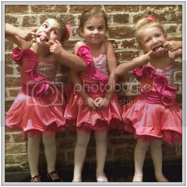 Silly ballerinas shine after their ballet recital!