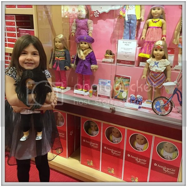 Jayna's Birthday Weekend at the American Girl Store in Atlanta