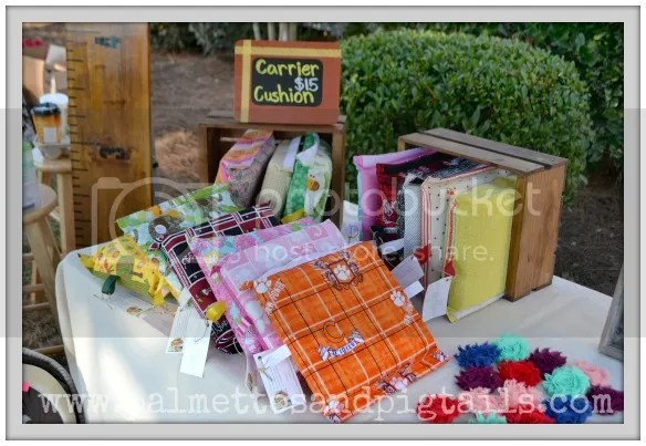 Anatomy of  Craft Show from Palmettos and Pigtails