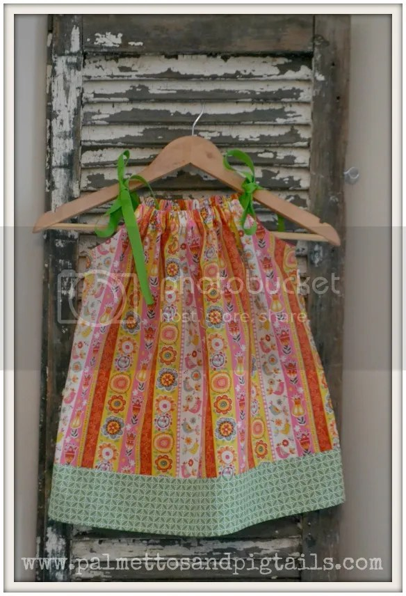 Pillowcase Dresses being sold at McAdoodle Consignment from Palmettos and Pigtails