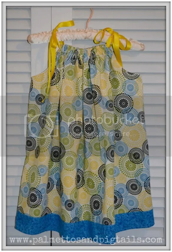 illowcase Dress from McAdoodle Consignment and Palmettos and Pigtails