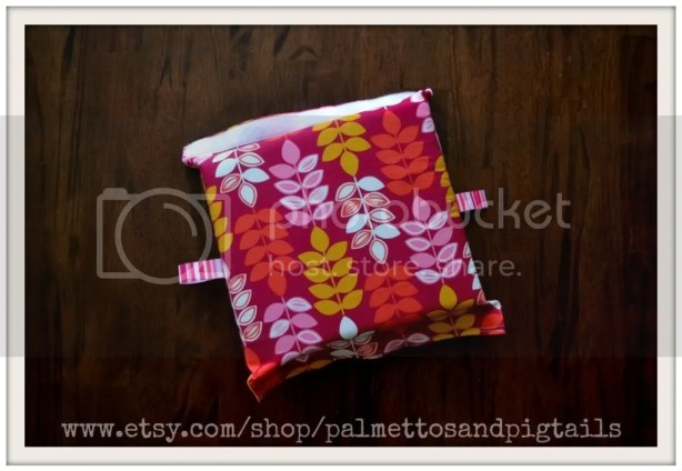 Carseat Carrier Cushion by Palmettos and Pigtails being sold at McAdoodle Consignment