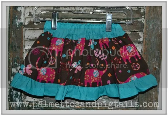 Twirly Skirt by Palmettos and Pigtails