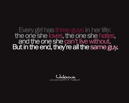 Relationship, Love, Hate Quotes