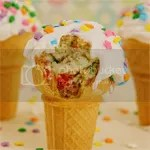 Funfetti Cone Cupcakes