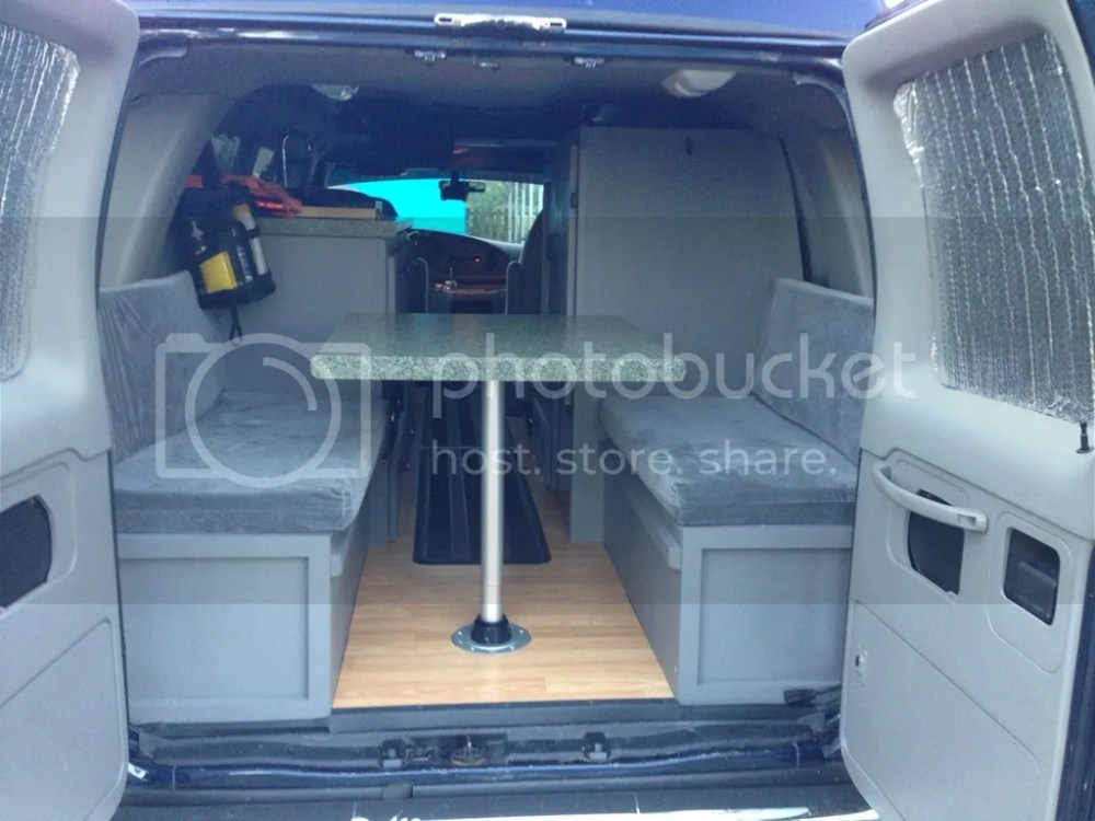 medium resolution of 2002 ford e350 colorado camper van pop top