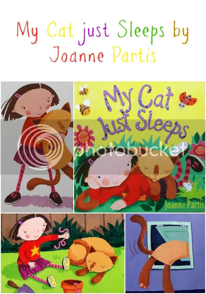 My Cat Just sleeps by Joanne Paris