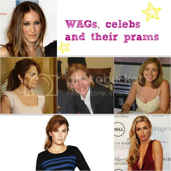 which pushchairs do celebrities have