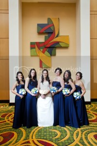 Brides Helping Brides  - Bouquets for Navy Blue ...