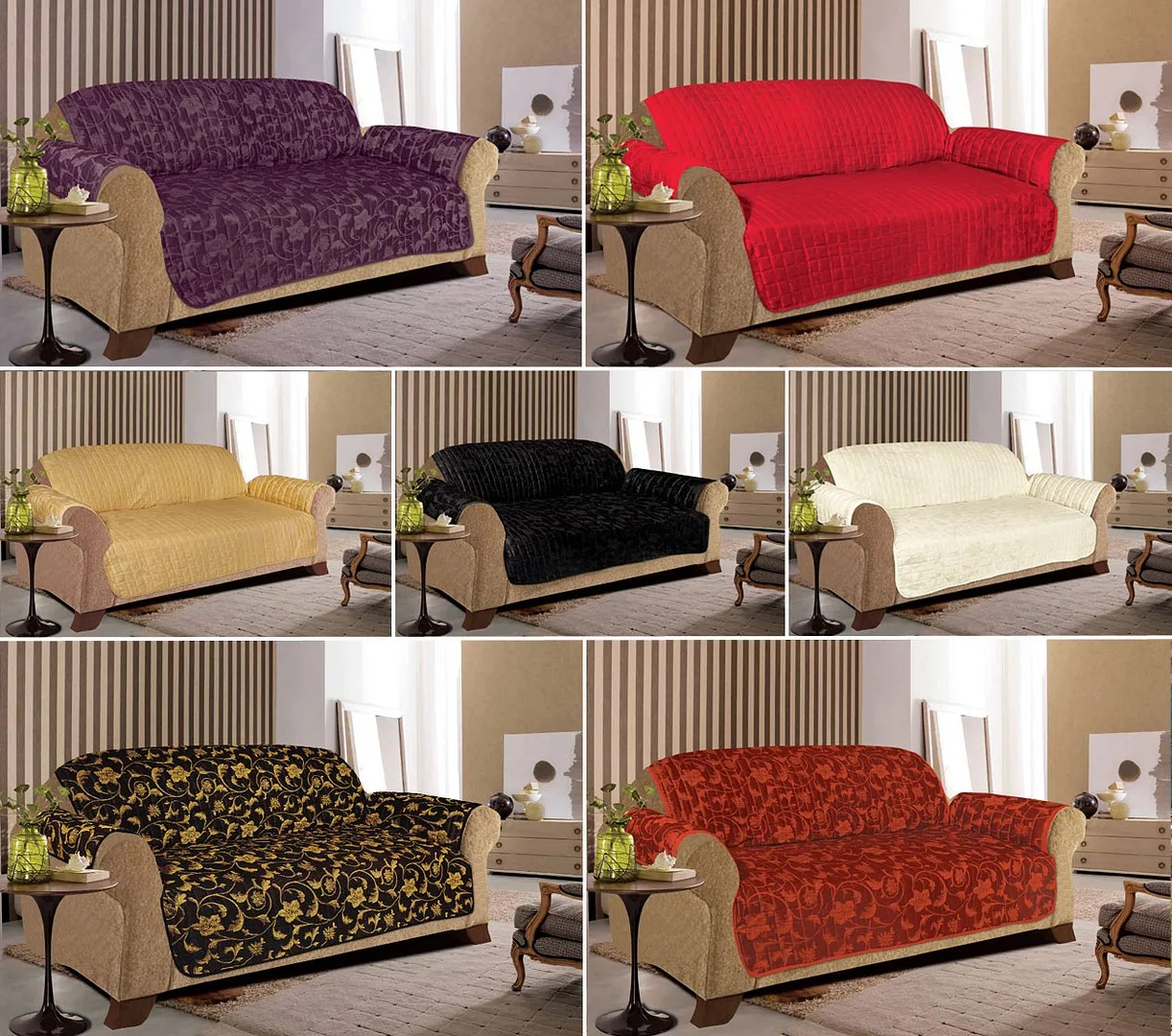 3 seater sofa throws uk building plans jacquard quilted slip covers for 1 2 and