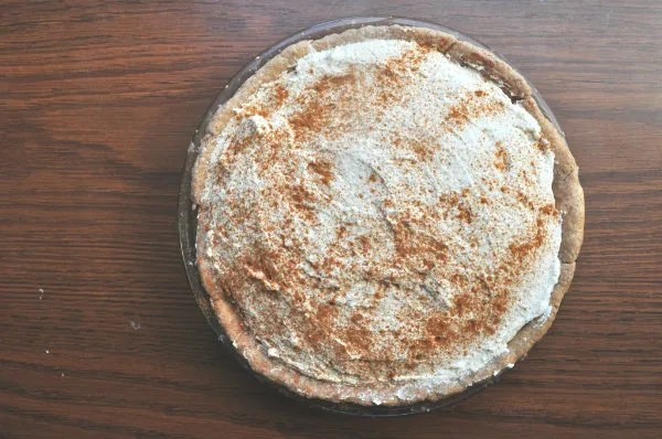 cinnamon chocolate cream pie