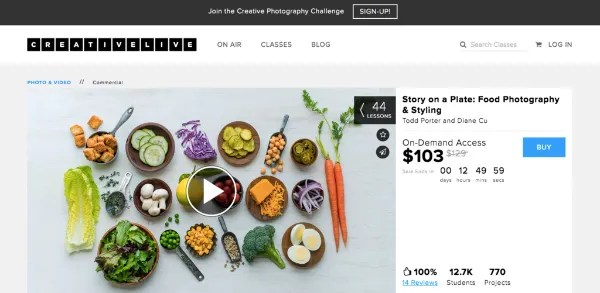 3 online resources for aspiring food photographers