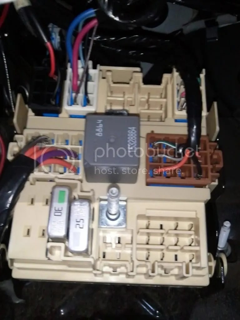 medium resolution of junction box with the light bar harness plugged in same location you have to remove the brake controller plug the brake controller plug is off to the