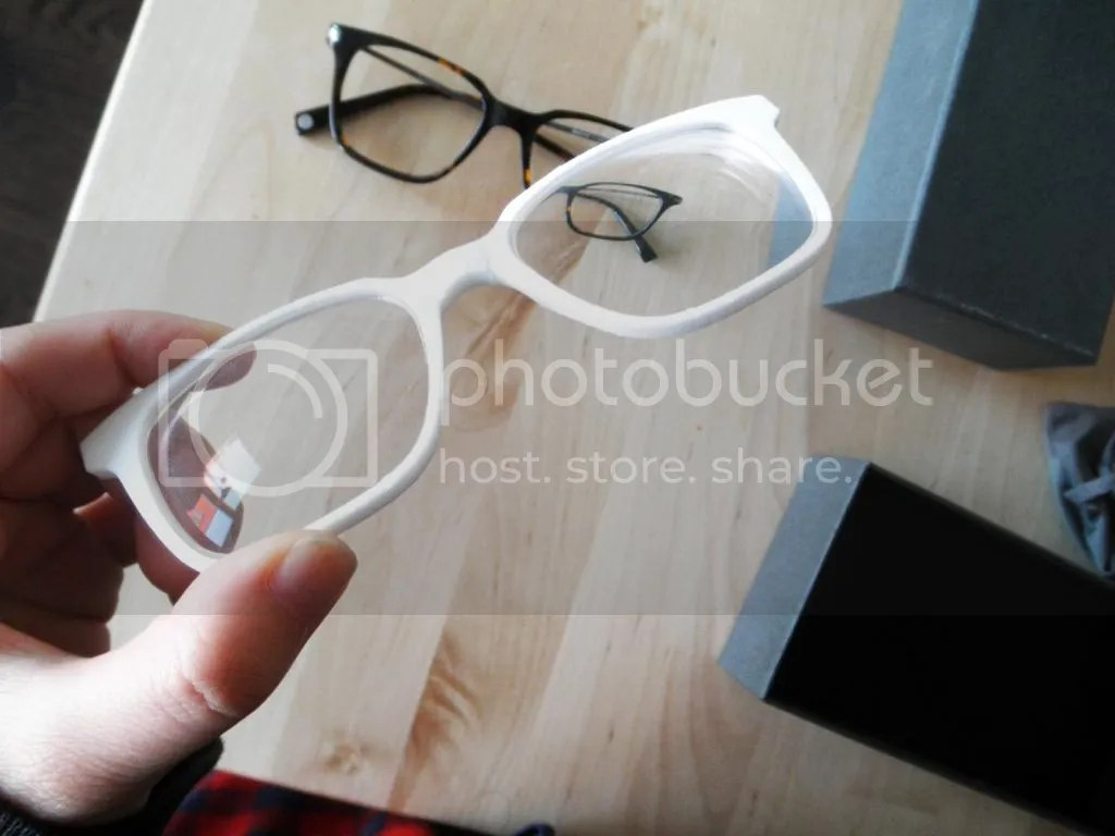 3D printed glasses frame