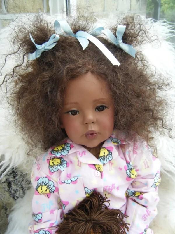 AA Ethnic Biracial Reborn Toddler Girl Doll Big Baby eBay
