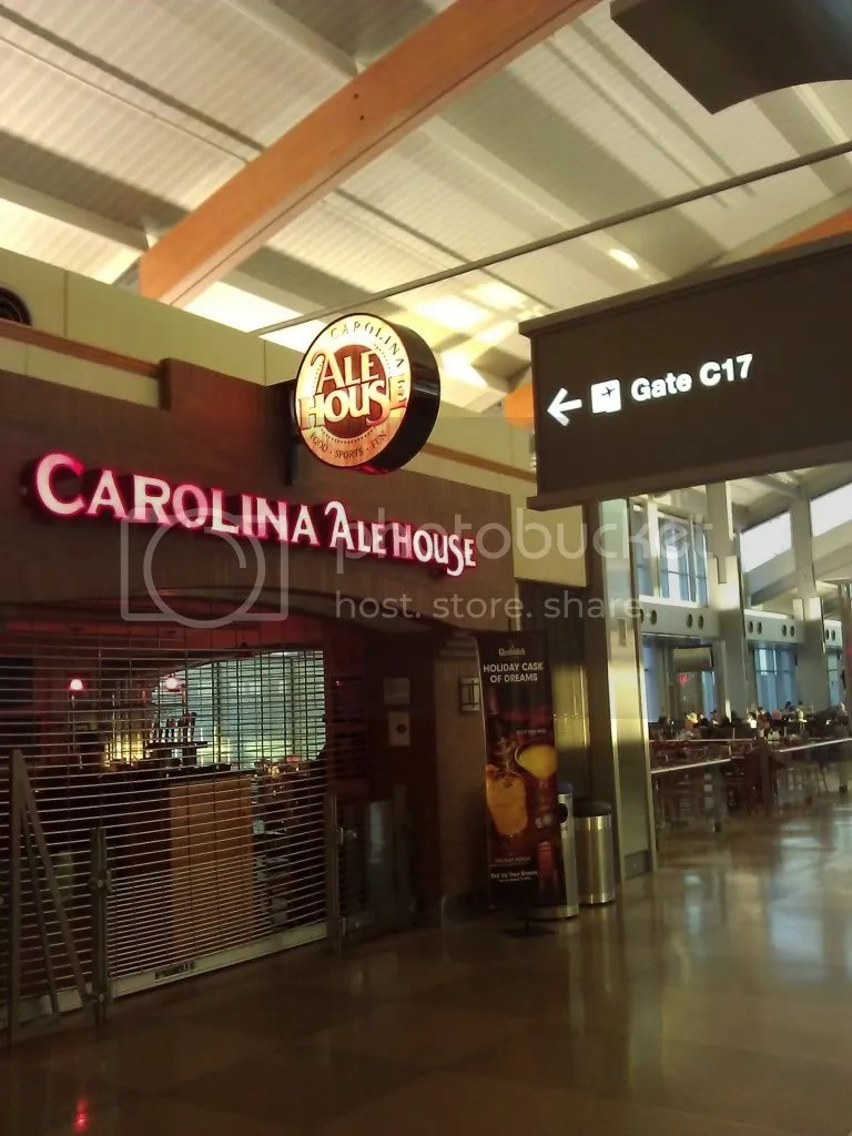 Gate C17 = Ale House?