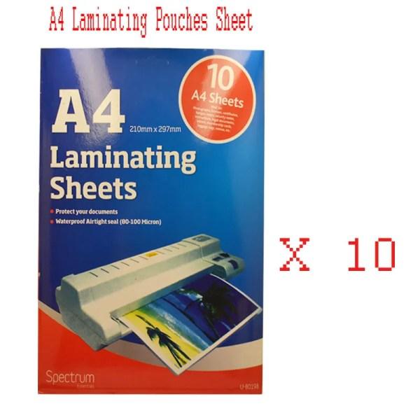 Clear Laminating Sheets