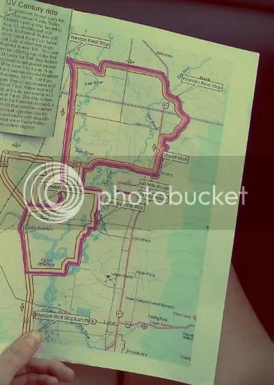 century race map