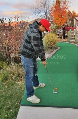 andy golfing