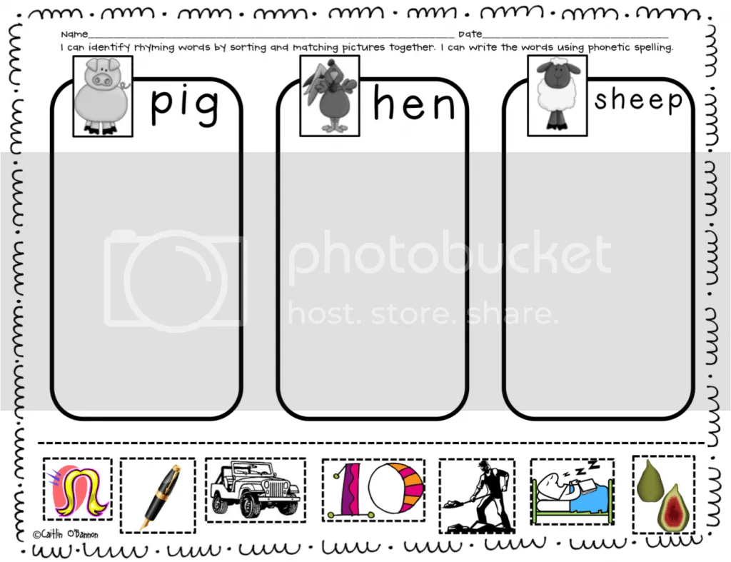 The Kinder Garden Farm Activities A Freebie And A
