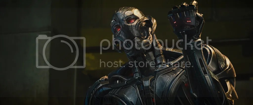 James Spader stars as the titular Ultron in the Avengers sequel.