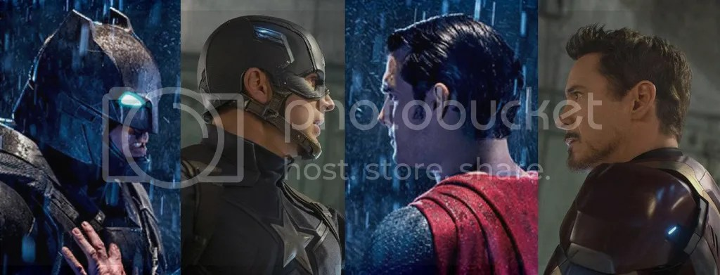 Dallas blogger James Bingham examines comparisons between Batman v Superman and Captain America: Civil War.