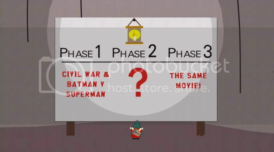 Dallas-area film blogger James Bingham discusses the similarities and differences between Captain America: Civil War and Batman v Superman.