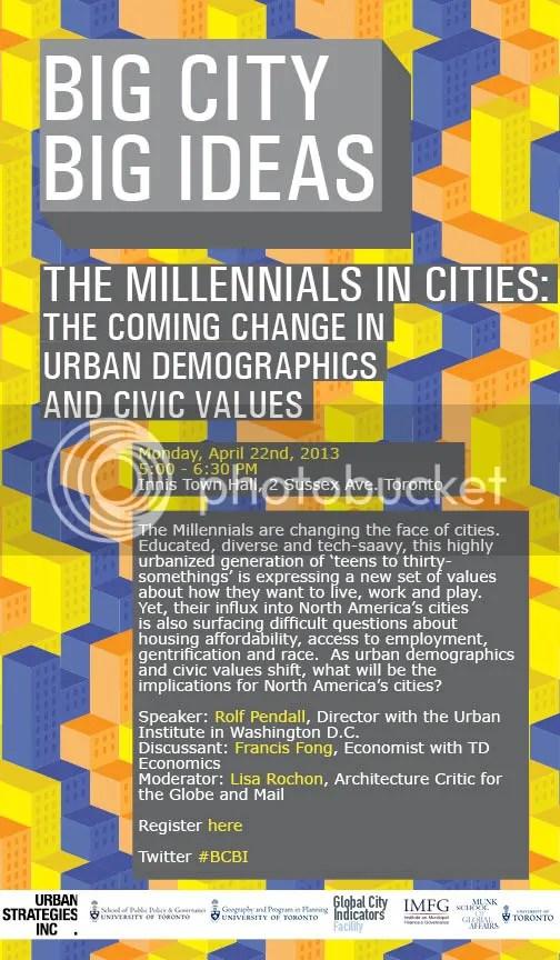 The Millennials in Cities