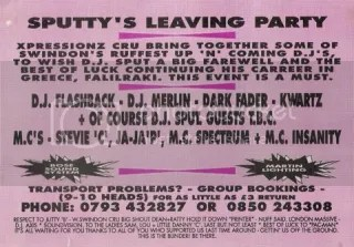 Sputty's Leaving Party