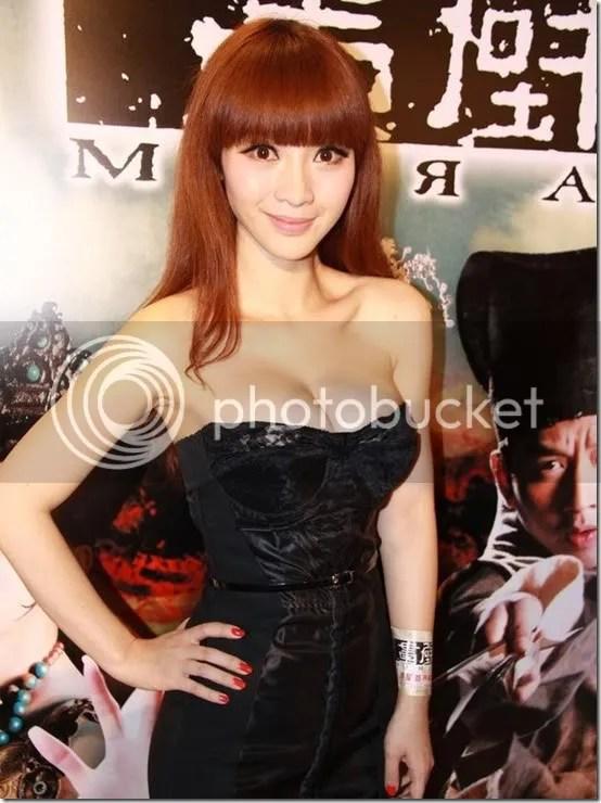 Ada Liu Yan in low cute dress to pr 3, girl xinh, gai xinh, gai xinh, anh girl xinh,  PG Ada Liu Yan   nhìn ngon quá