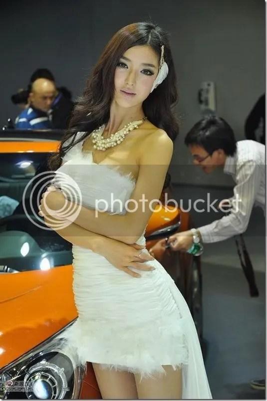 Sexy model Li Yingzhi in Guangzhou  1, girl xinh, gai xinh, gai xinh, anh girl xinh,  Sexy model Li Yingzhi in Guangzhou Motor Show 2011