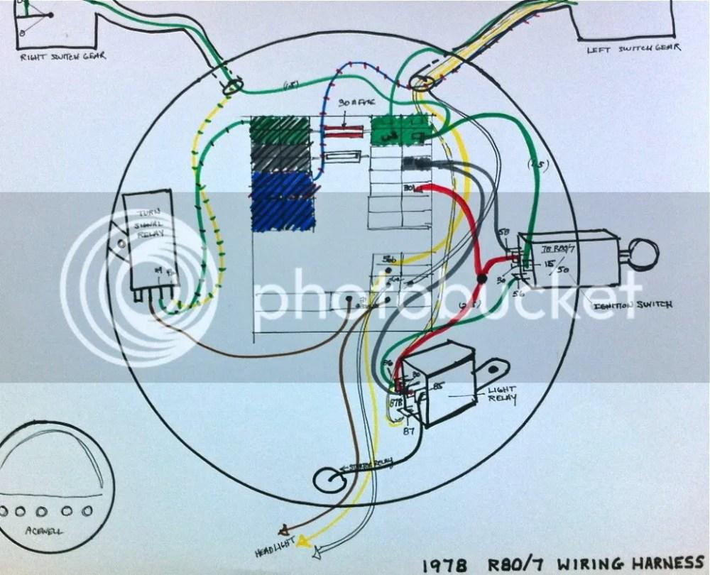 medium resolution of 1978 bmw r100 7 wiring diagram