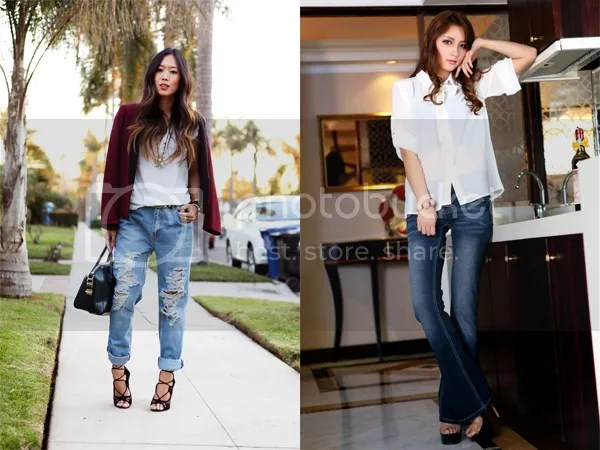 Top Trends In Denim: Bootcut And Boyfriend Jeans