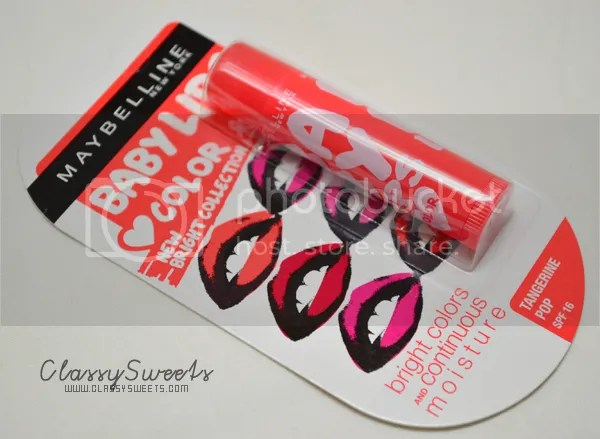 Unboxing October 2013 BDJ Box: Maybelline Baby Lips Runway Brights