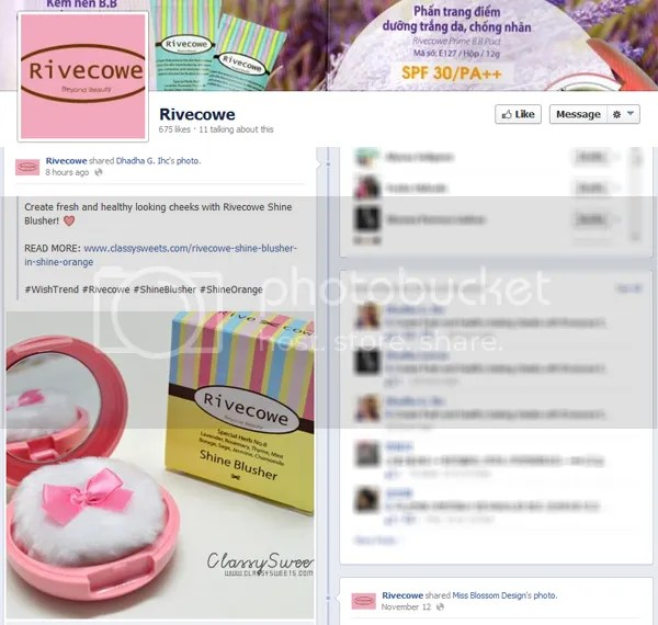 Press: Featured at Rivecowe   Facebook