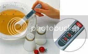 Sószintmérő kanál a levesben
