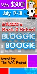 Back 2 School Bloggie Boogie Giveaway Hop