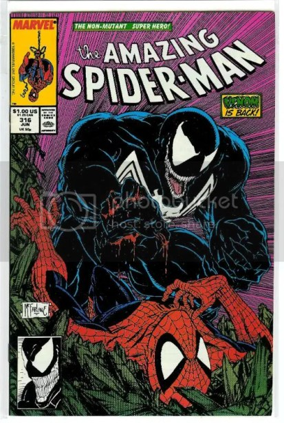 Top 5 Comic Book Monsters - Venom