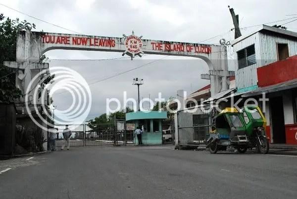 Matnog, the edge of Luzon