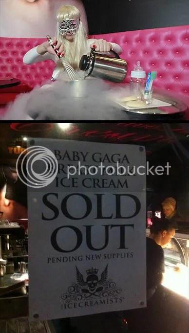 Baby Gaga - The Icecreamist