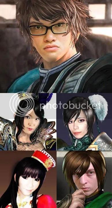 Dynasty Warriors 7 Shin Sangokumusou 6 Human Fans