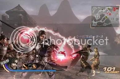 Dynasty Warriors 7 - Combat Attacks